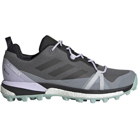adidas TERREX Skychaser LT Gore-Tex Hiking Shoes Women grey four/core black/green tint